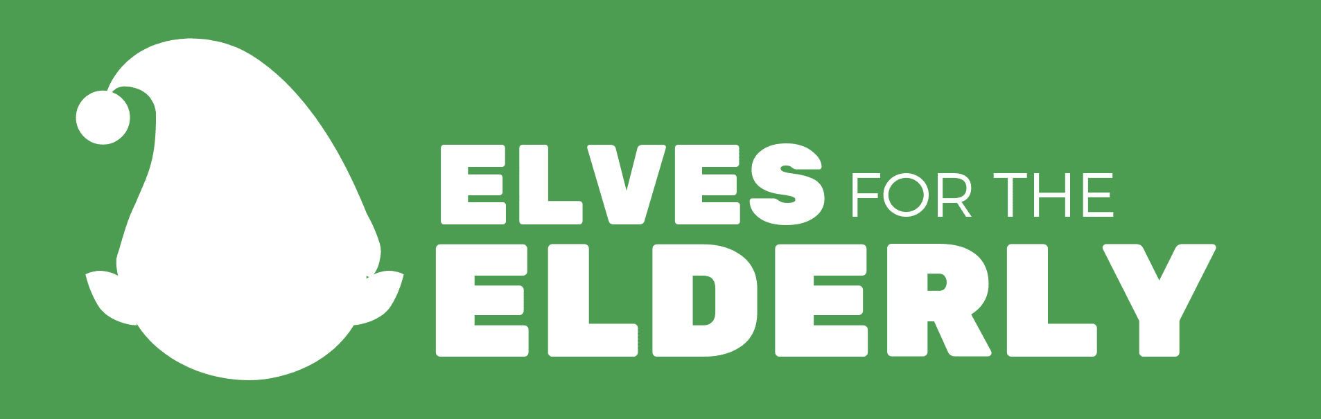 Elves for the Elderly Website Graphic