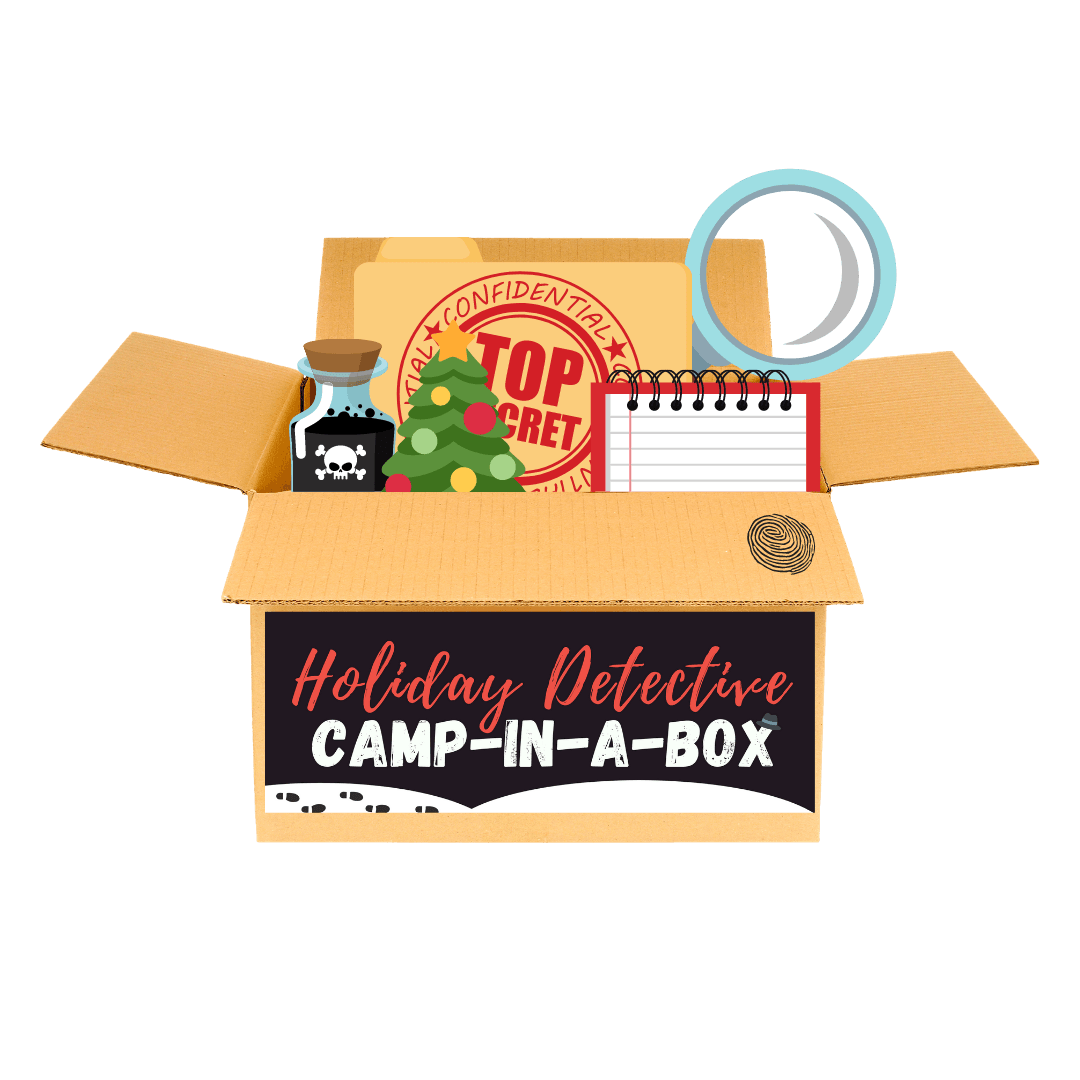 Detective Camp in a box