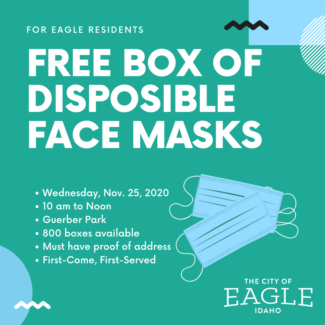 Free disposible face masks