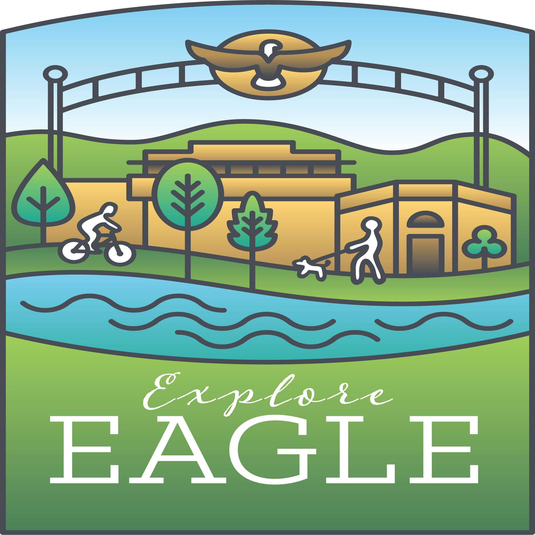 Explore Eagle Idaho App Logo