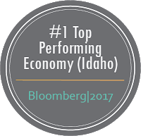 Number 1 Top Performing Economy (Idaho) Bloomberg, 2017
