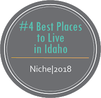 Number 4 Best Place to Live in Idaho Niche, 2018