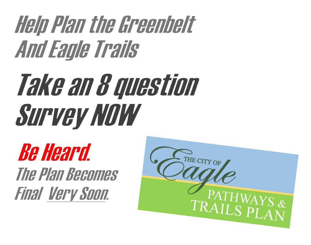 Graphic for taking the Trails survey