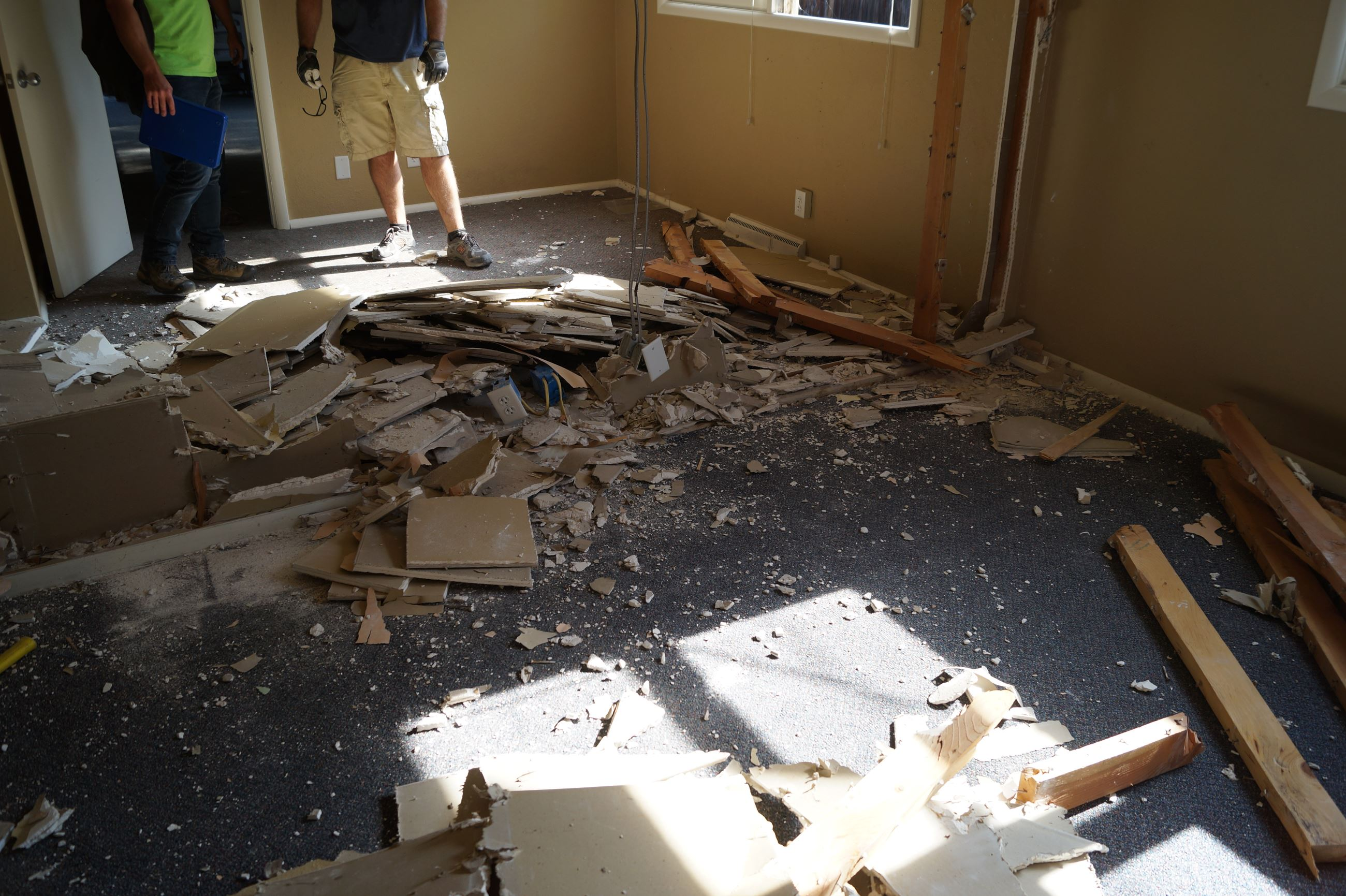 Office demolition
