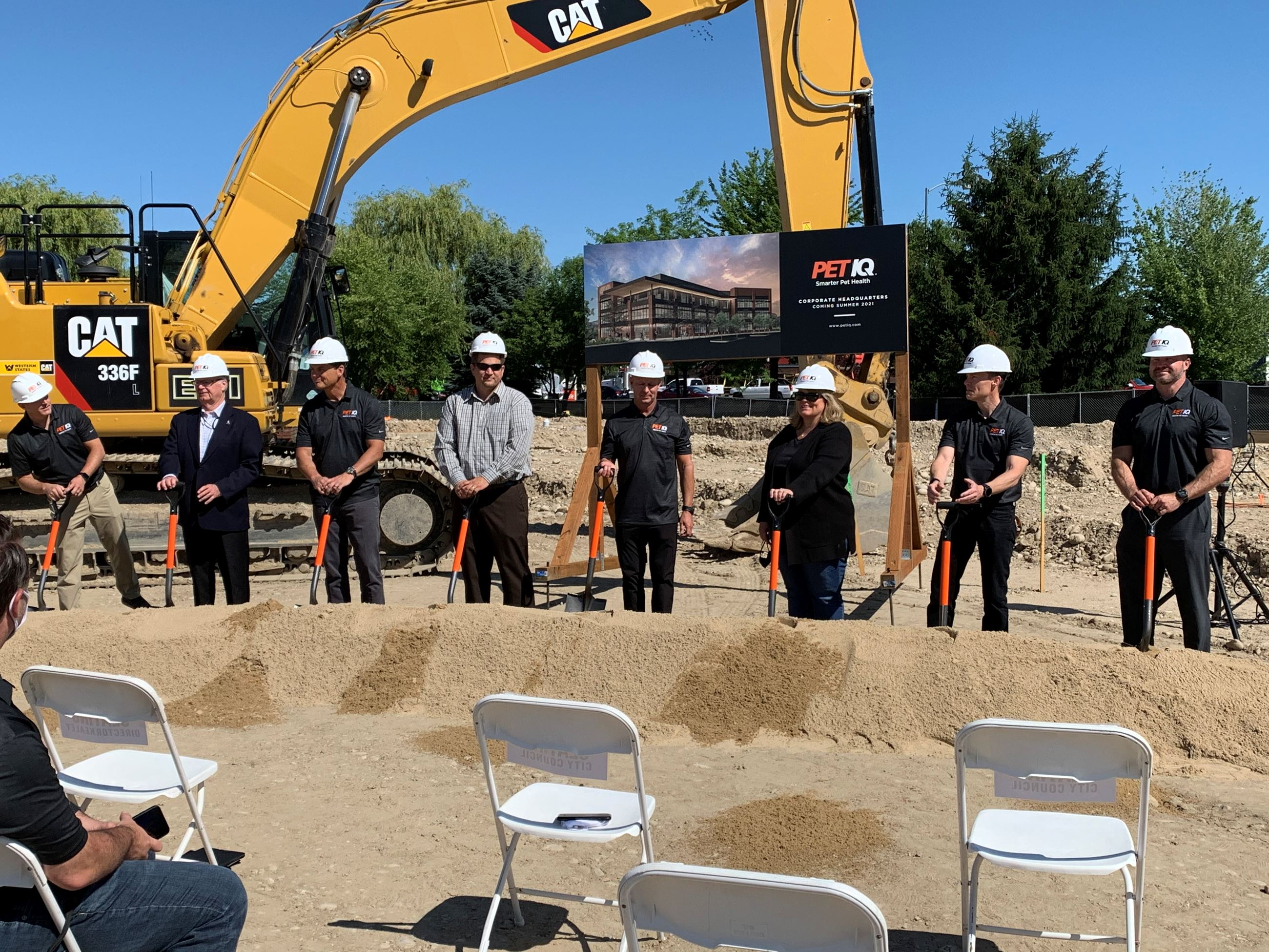 PetIQ Groundbreaking Photo