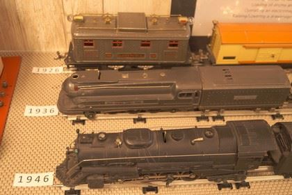 Vintage Train Sets Ranging from 1926 to 1946