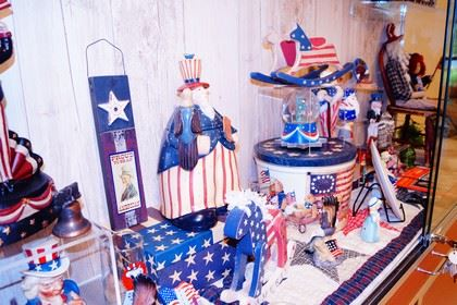 Wideshot of Star Spangled Memorabilia Collection